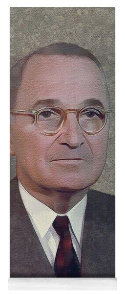Harry S. Truman, President Yoga Mat