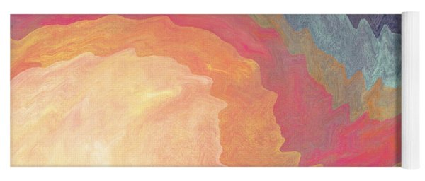 Harvest Wind- Abstract Art By Linda Woods Yoga Mat