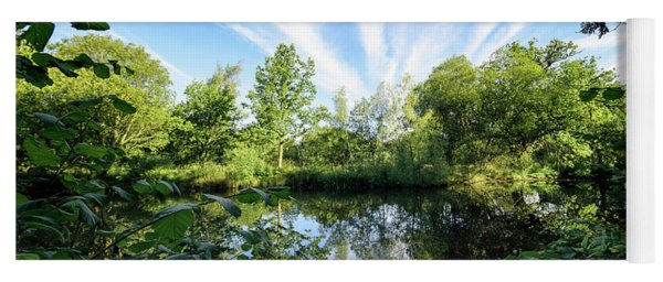 Hatfield Forest Lake England Essex Summer Yoga Mat