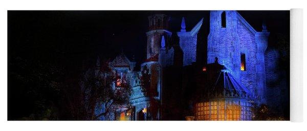 Haunted Mansion At Walt Disney World Yoga Mat