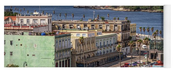 Havana By The Port Yoga Mat