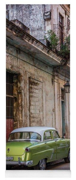 Havana Street Scene Yoga Mat