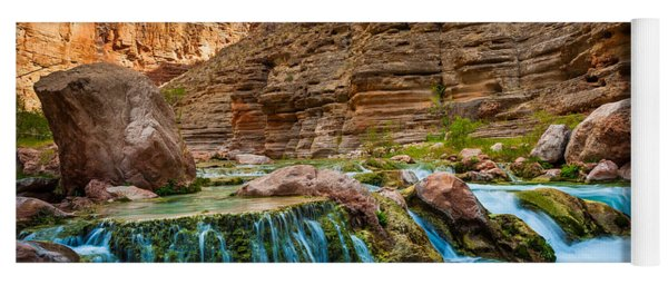 Havasu Creek Cascade Yoga Mat