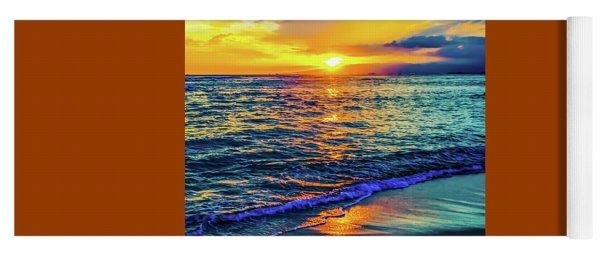 Hawaii Beach Sunset 149 Yoga Mat