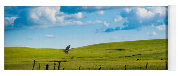 Hawk And Flint Hills Yoga Mat