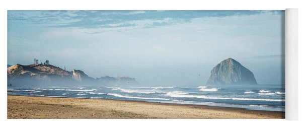 Haystack Rock Pacific City Yoga Mat