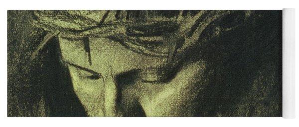 Head Of Christ Yoga Mat