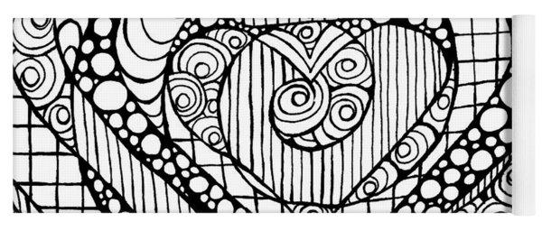 Heart Crown Tangle Yoga Mat