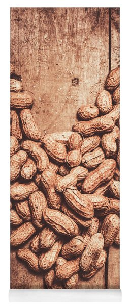 Heart Health And Nuts Yoga Mat