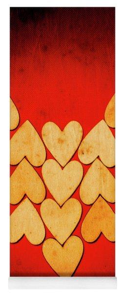 Heart Of Hearts Yoga Mat