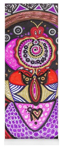 Heart Of The Feminine Yoga Mat