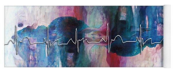 Heartbeat Drama Yoga Mat