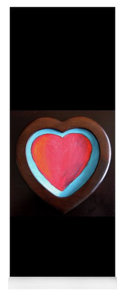 Hearts Afire Yoga Mat
