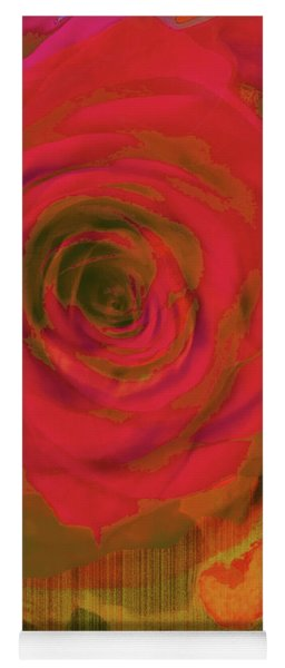 Hearts 'n Flowers-what Quarrel Yoga Mat