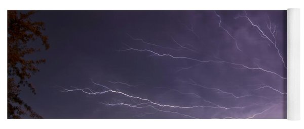 Heat Lightning Yoga Mat