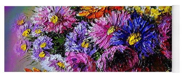 Heavenly  Blossom Yoga Mat
