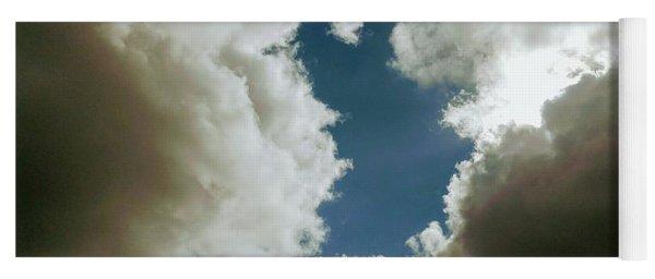 Majestic Clouds  Yoga Mat