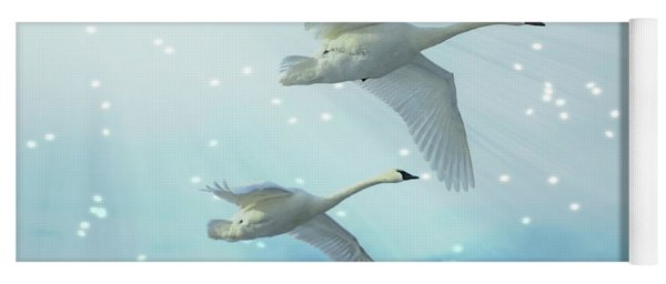 Heavenly Swan Flight Yoga Mat