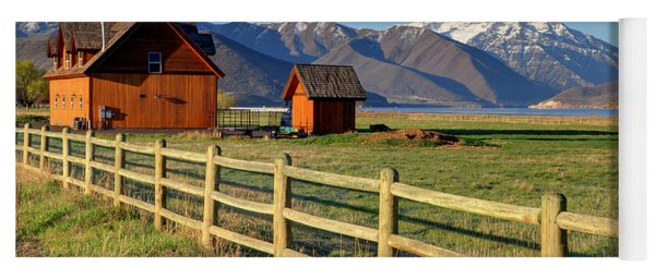 Heber Valley Ranch House - Wasatch Mountains Yoga Mat