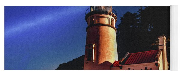 Heceta Head Lighthouse Yoga Mat