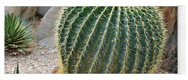 Hedgehog Cactus Yoga Mat