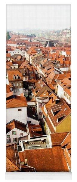 Heidelberg Cityscape Yoga Mat