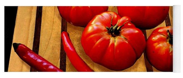 Heirloom Tomatoes Yoga Mat