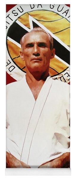 Helio Gracie - Famed Brazilian Jiu-jitsu Grandmaster Yoga Mat