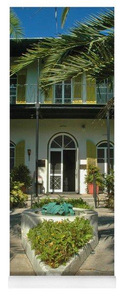 Hemingways House Key West Yoga Mat