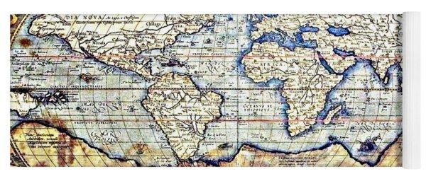 Hemisphere World  Yoga Mat