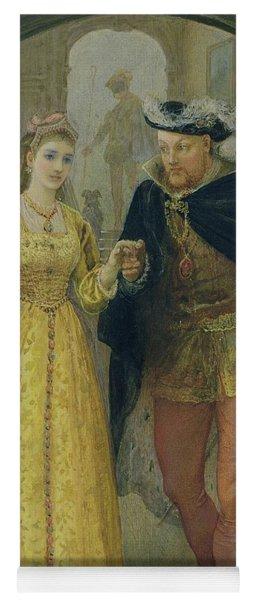 Henry Viii And Anne Boleyn  Yoga Mat