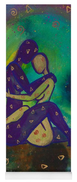 Her Loves Embrace Divine Love Series No. 1006 Yoga Mat