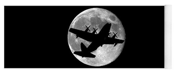 Hercules Moon .png Yoga Mat
