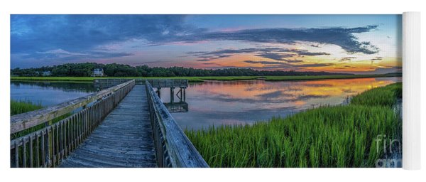 Heritage Shores Nature Preserve Sunrise Yoga Mat