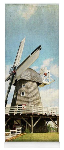 Heritage Village Windmill Yoga Mat
