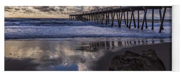 Hermosa Beach Pier Yoga Mat