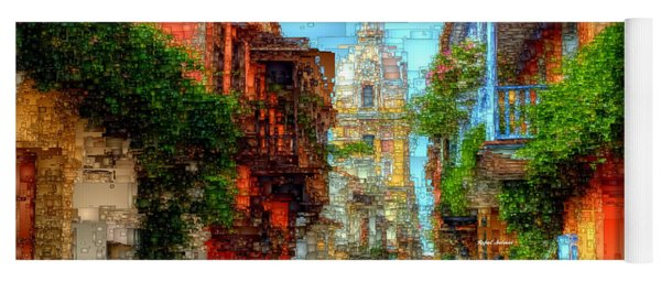 Heroic City, Cartagena De Indias Colombia Yoga Mat