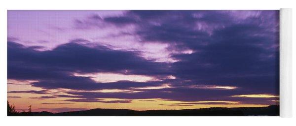 Herring Weir, Sunset Yoga Mat