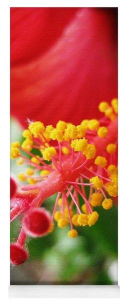 Hibiscus #3 Yoga Mat