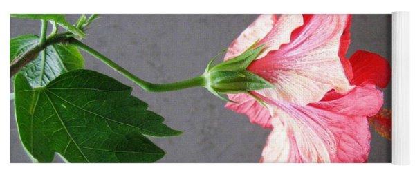 Hibiscus #4 Yoga Mat