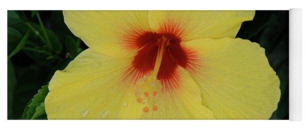 Sun Lover Hibiscus Yoga Mat
