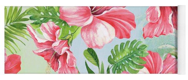 Hibiscus Paradise-jp3966 Yoga Mat