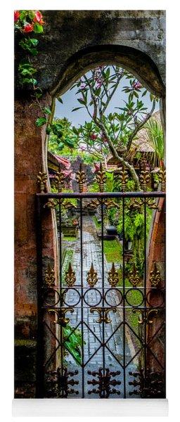 Bali Gate Yoga Mat