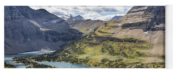 Hidden Lake Overlook Yoga Mat