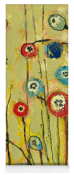 Hidden Poppies Yoga Mat