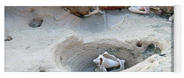 Hidden Shells On Bimini Beach Yoga Mat