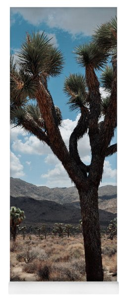 Hidden Valley Joshua Tree Portrait Yoga Mat