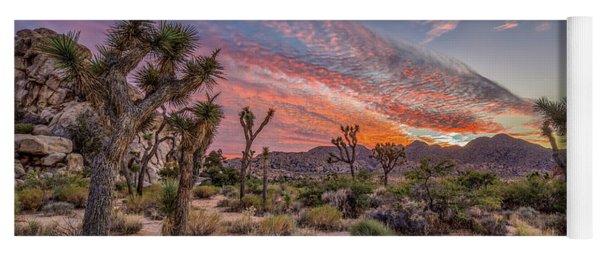 Hidden Valley Sunset II Yoga Mat