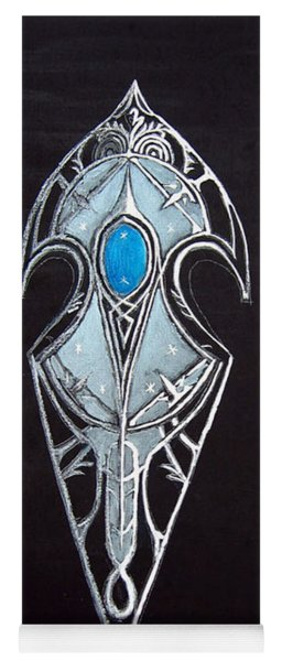 High Elven Warrior Shield  Yoga Mat