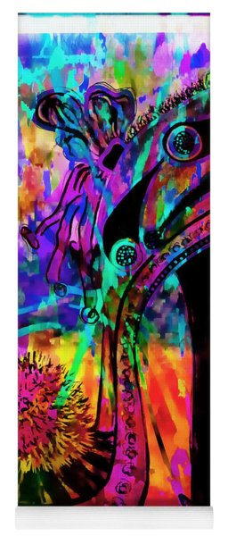 High Heel Heaven Abstract Yoga Mat